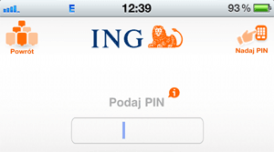 Nadawanie kodu PIN w aplikacji na telefon lub tablet w ING Banku Śląskim jest szybkie i proste.